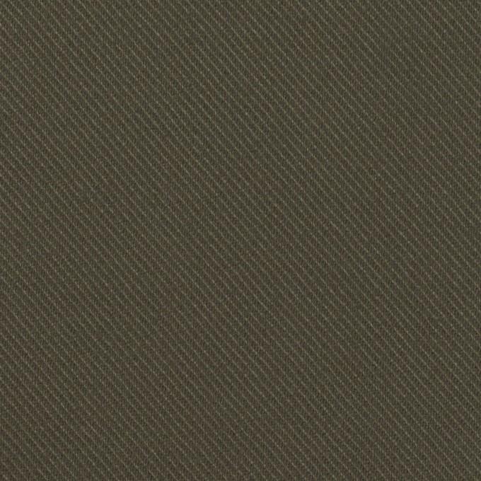 コットン×無地(ダークカーキ)×サージ_全3色 イメージ1