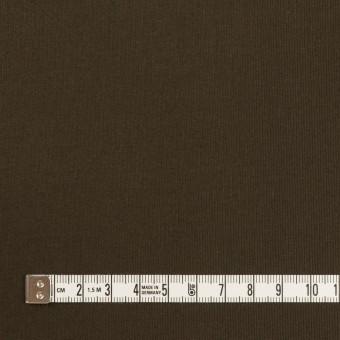 コットン×無地(ダークカーキブラウン)×グログラン サムネイル4
