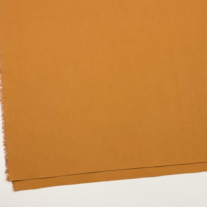 コットン×無地(パンプキン)×斜子織_イタリア製 イメージ2