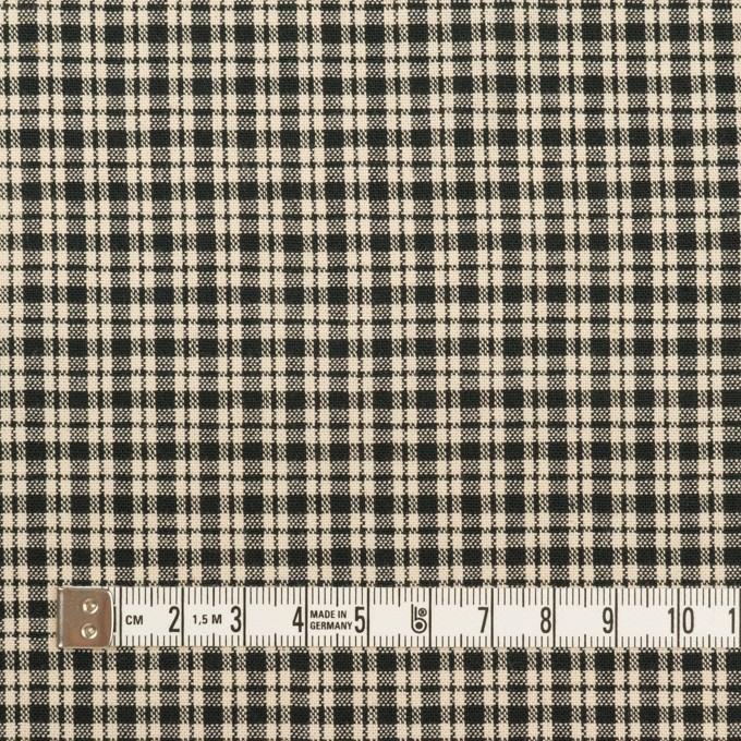 コットン×チェック(エクリュ&ブラック)×シーチング イメージ4