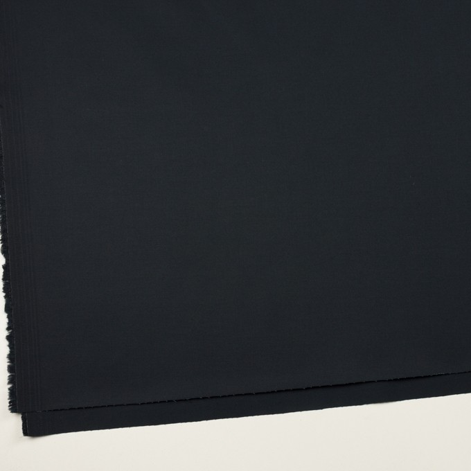 コットン&ポリウレタン×無地(ダークネイビー)×チノクロス・ストレッチ イメージ2