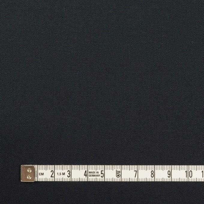 コットン&ポリウレタン×無地(ダークネイビー)×チノクロス・ストレッチ イメージ4