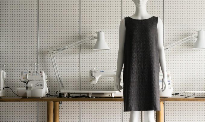 FAB #186 ノースリーブのサックドレス