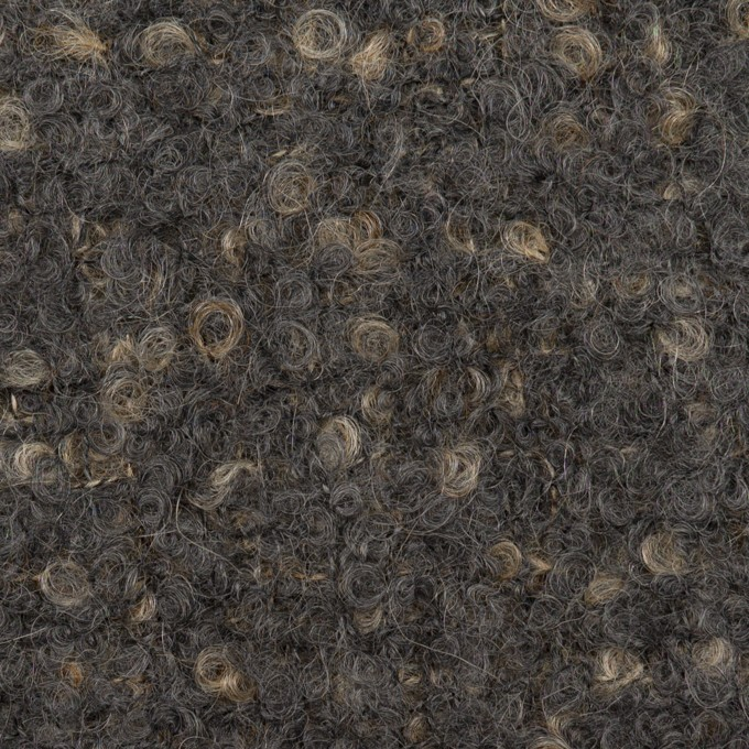 ウール&モヘア混×ミックス(ダブグレー)×ファンシーツイード_全2色 イメージ1