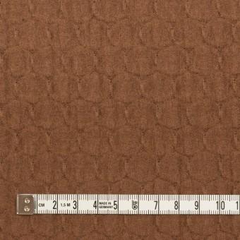 ウール×サークル(マロン)×圧縮ジャガードニット サムネイル4