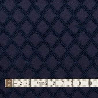 ポリエステル×ダイヤ(プルシアンブルー)×サテンジャガード・ストレッチ サムネイル4