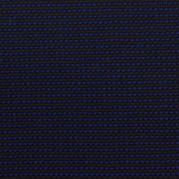 コットン&ポリエステル×ミックス(マリンブルー&ダークネイビー)×かわり織 イメージ1
