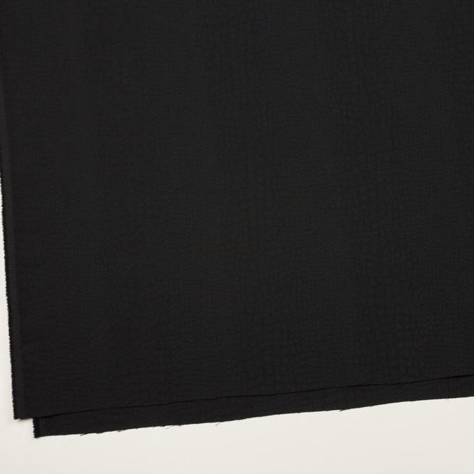 ポリエステル×クロコ(ブラック)×フクレジャガード イメージ2