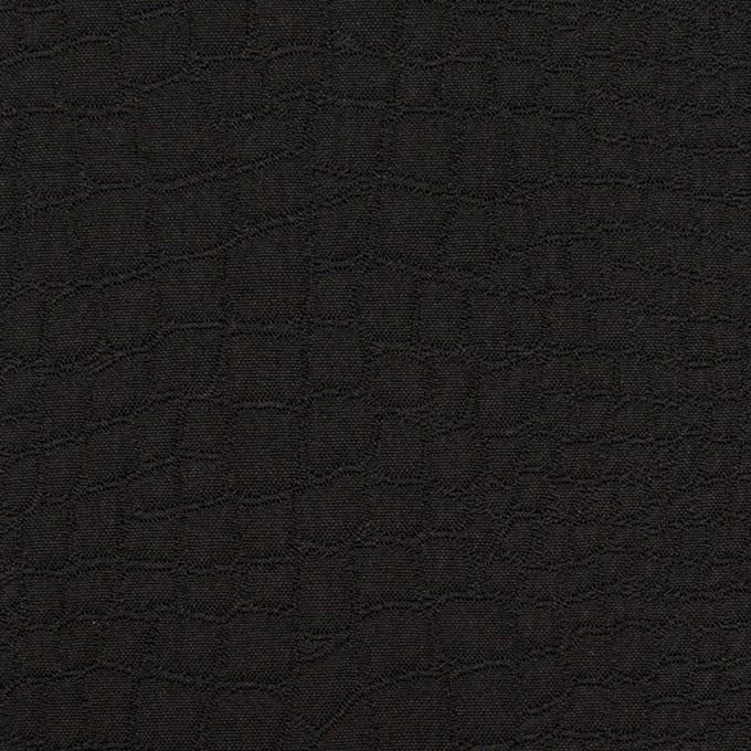 ポリエステル×クロコ(ブラック)×フクレジャガード イメージ1