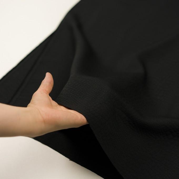 ポリエステル×クロコ(ブラック)×フクレジャガード イメージ5