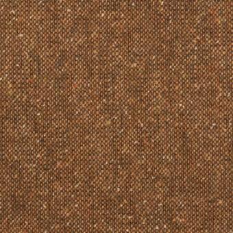 ウール&ポリエステル混×ミックス(マロン)×ツイードストレッチ_全2色_イタリア製