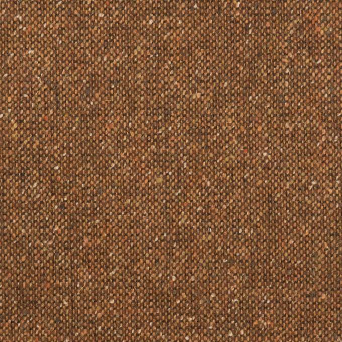 ウール&ポリエステル混×ミックス(マロン)×ツイードストレッチ_全2色_イタリア製 イメージ1