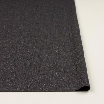 ウール&ポリエステル混×ミックス(アッシュネイビー)×ツイードストレッチ_全2色_イタリア製 サムネイル3