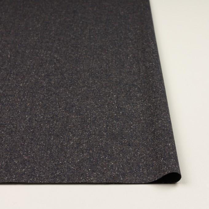 ウール&ポリエステル混×ミックス(アッシュネイビー)×ツイードストレッチ_全2色_イタリア製 イメージ3