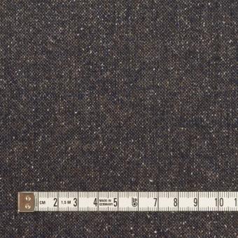 ウール&ポリエステル混×ミックス(アッシュネイビー)×ツイードストレッチ_全2色_イタリア製 サムネイル4