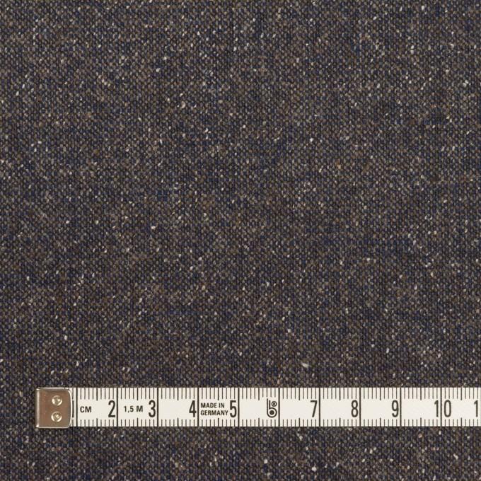 ウール&ポリエステル混×ミックス(アッシュネイビー)×ツイードストレッチ_全2色_イタリア製 イメージ4