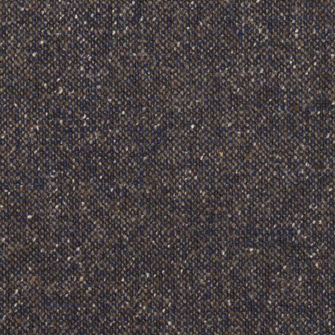 ウール&ポリエステル混×ミックス(アッシュネイビー)×ツイードストレッチ_全2色_イタリア製 イメージ1
