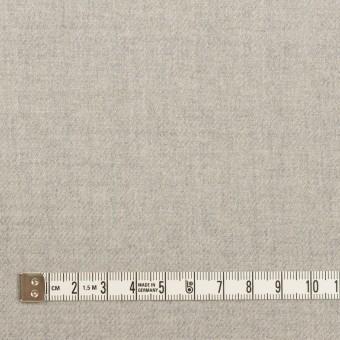 ウール&ポリウレタン×無地(ライトグレー)×サージストレッチ サムネイル4