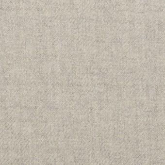 ウール&ポリウレタン×無地(ライトグレー)×サージストレッチ