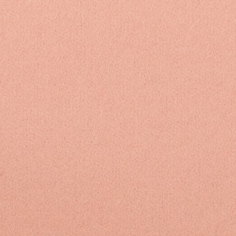 ウール×無地(サーモンピンク)×フラノ(フランネル)