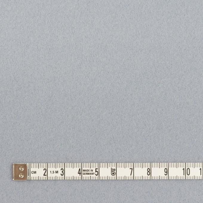 ウール×無地(ペールブルー)×フラノ(フランネル) イメージ4