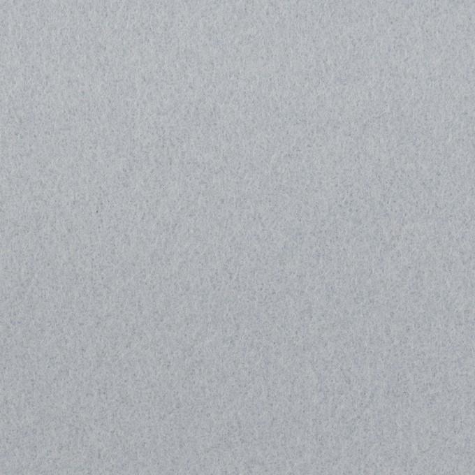 ウール×無地(ペールブルー)×フラノ(フランネル) イメージ1