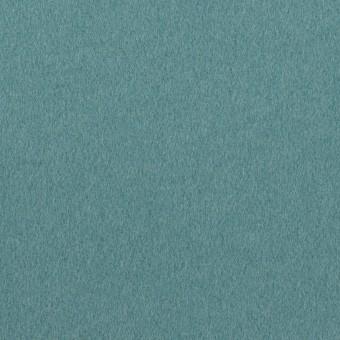 ウール×無地(ピーコックブルー)×フラノ(フランネル)