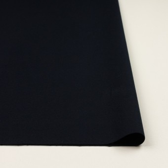 コットン&ポリウレタン×無地(ダークネイビー)×ビエラストレッチ サムネイル3