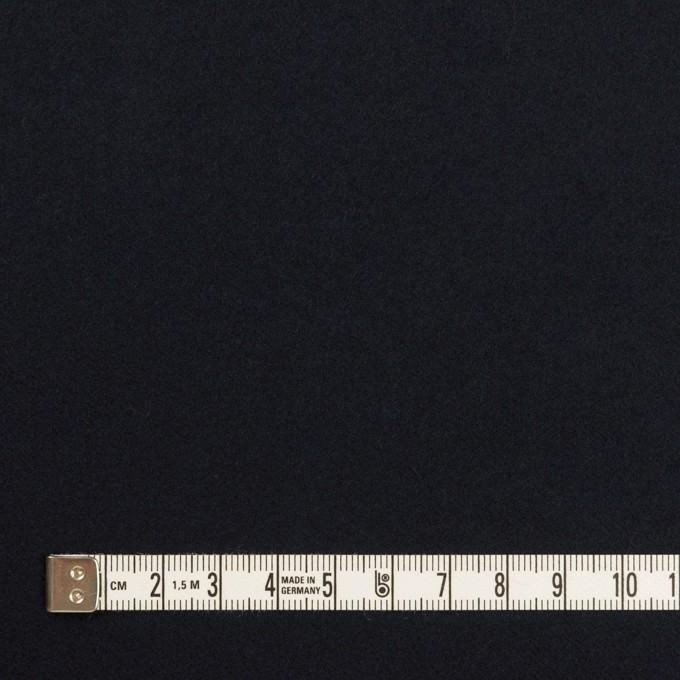 コットン&ポリウレタン×無地(ダークネイビー)×ビエラストレッチ イメージ4