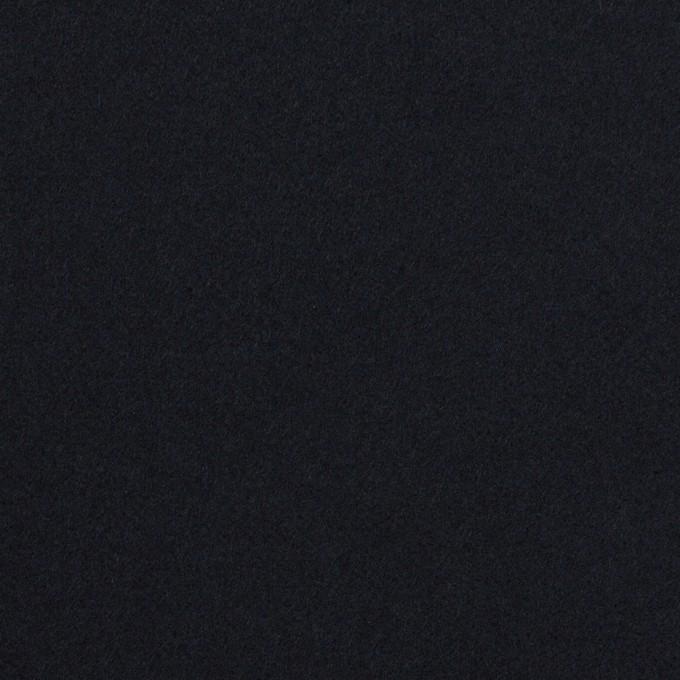 コットン&ポリウレタン×無地(ダークネイビー)×ビエラストレッチ イメージ1
