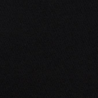コットン&ポリウレタン×無地(ブラック)×ビエラストレッチ