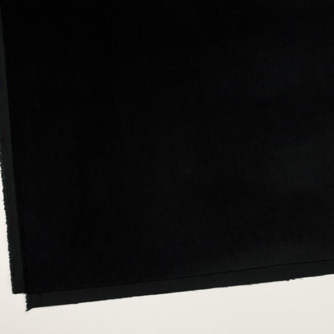 コットン&ポリウレタン×無地(ブルーブラック)×ベッチンストレッチ イメージ2