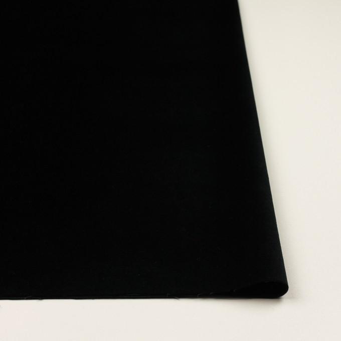 コットン&ポリウレタン×無地(ブルーブラック)×ベッチンストレッチ イメージ3