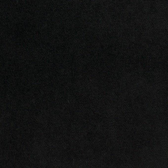 コットン&ポリウレタン×無地(ブルーブラック)×ベッチンストレッチ イメージ1