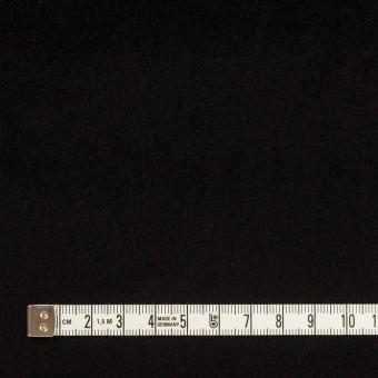 コットン&ポリウレタン×無地(ブラック)×ベッチンストレッチ サムネイル4