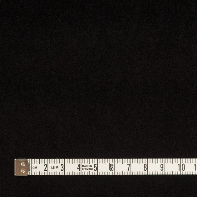 コットン&ポリウレタン×無地(ブラック)×ベッチンストレッチ イメージ4