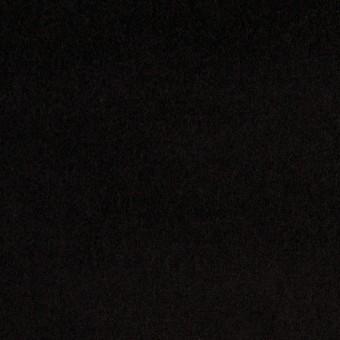 コットン&ポリウレタン×無地(ブラック)×ベッチンストレッチ