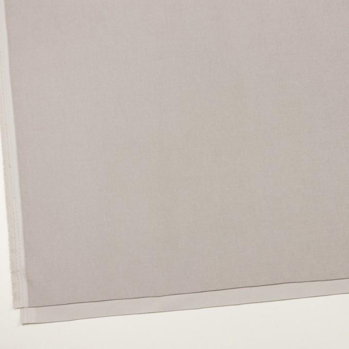 コットン&ポリウレタン×無地(パールグレー)×ベルベット・ストレッチ イメージ2