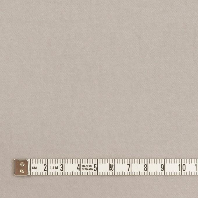 コットン&ポリウレタン×無地(パールグレー)×ベルベット・ストレッチ イメージ4