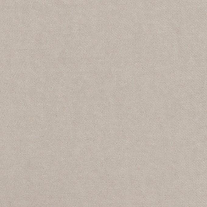 コットン&ポリウレタン×無地(パールグレー)×ベルベット・ストレッチ イメージ1