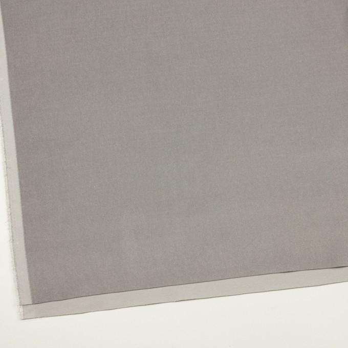 コットン&ポリウレタン×無地(ストーングレー)×ベルベット・ストレッチ イメージ2