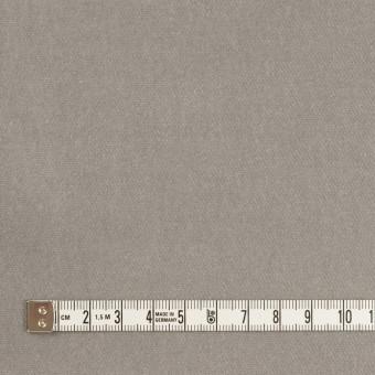 コットン&ポリウレタン×無地(ストーングレー)×ベルベット・ストレッチ サムネイル4