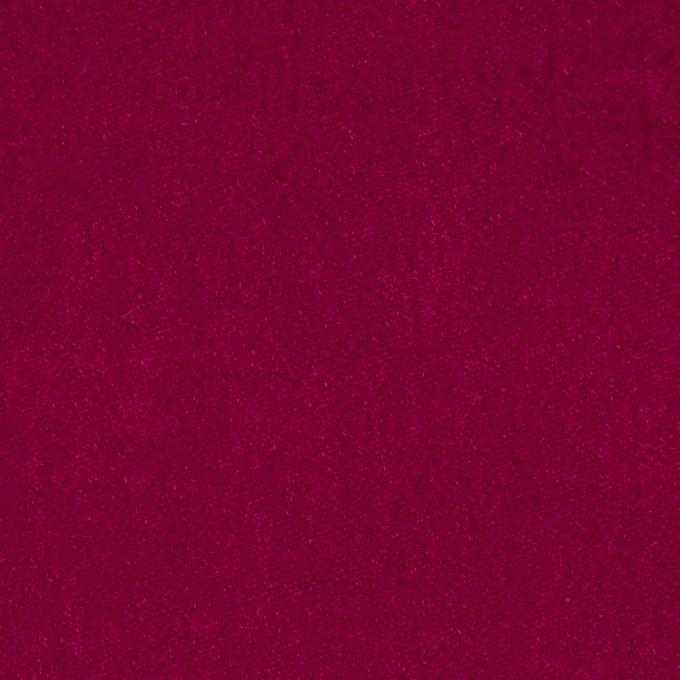 コットン&ポリウレタン×無地(チェリーピンク)×ベッチン・ストレッチ イメージ1