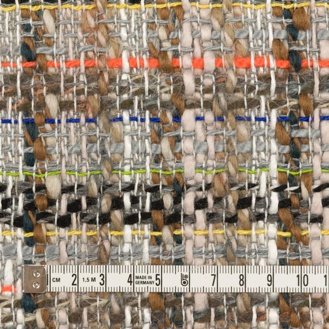 ウール&アクリル混×ミックス(マルチ)×ファンシーツイード イメージ4
