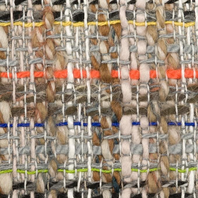 ウール&アクリル混×ミックス(マルチ)×ファンシーツイード イメージ1