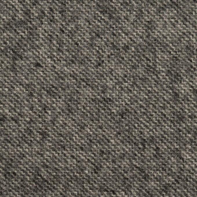ウール×ミックス(チャコールグレー)×ツイード イメージ1