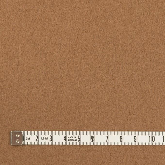 ウール×無地(モカ)×フラノ(フランネル) イメージ4