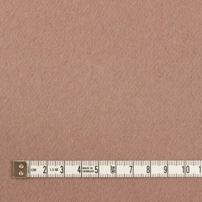 ウール×無地(ロージーブラウン)×ソフトメルトン イメージ4