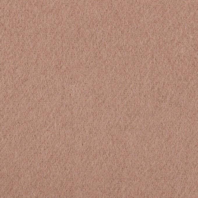 ウール×無地(ロージーブラウン)×ソフトメルトン イメージ1