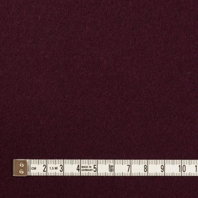 ウール×無地(レーズン)×フラノ(フランネル) イメージ4